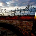 81. Spirit Warriors, Indian Memorial, Little Bighorn Battlefield, Crow Agency, Montana, 2009.