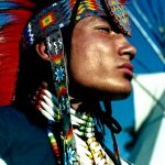 12. Delwin Fiddler Jr, Minniconjou-Lakota, Crow Fair, Montana, 1996.