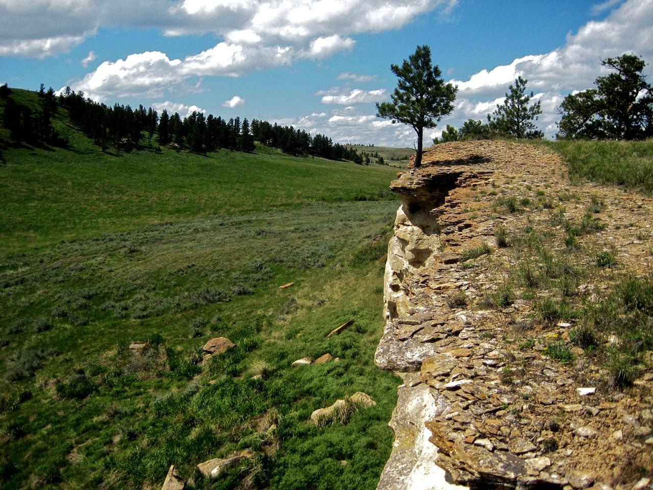 120. Buffalo Jump (8), Rosebud Battlefield, Montana, USA, 2008.