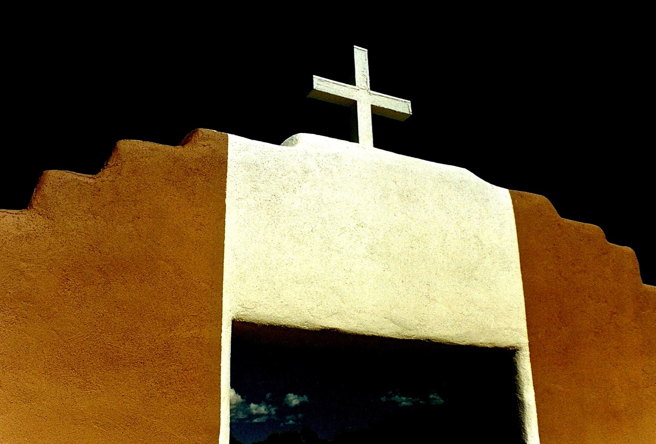 13. San Geronimo Chapel, Taos Pueblo, New Mexico, 1987.