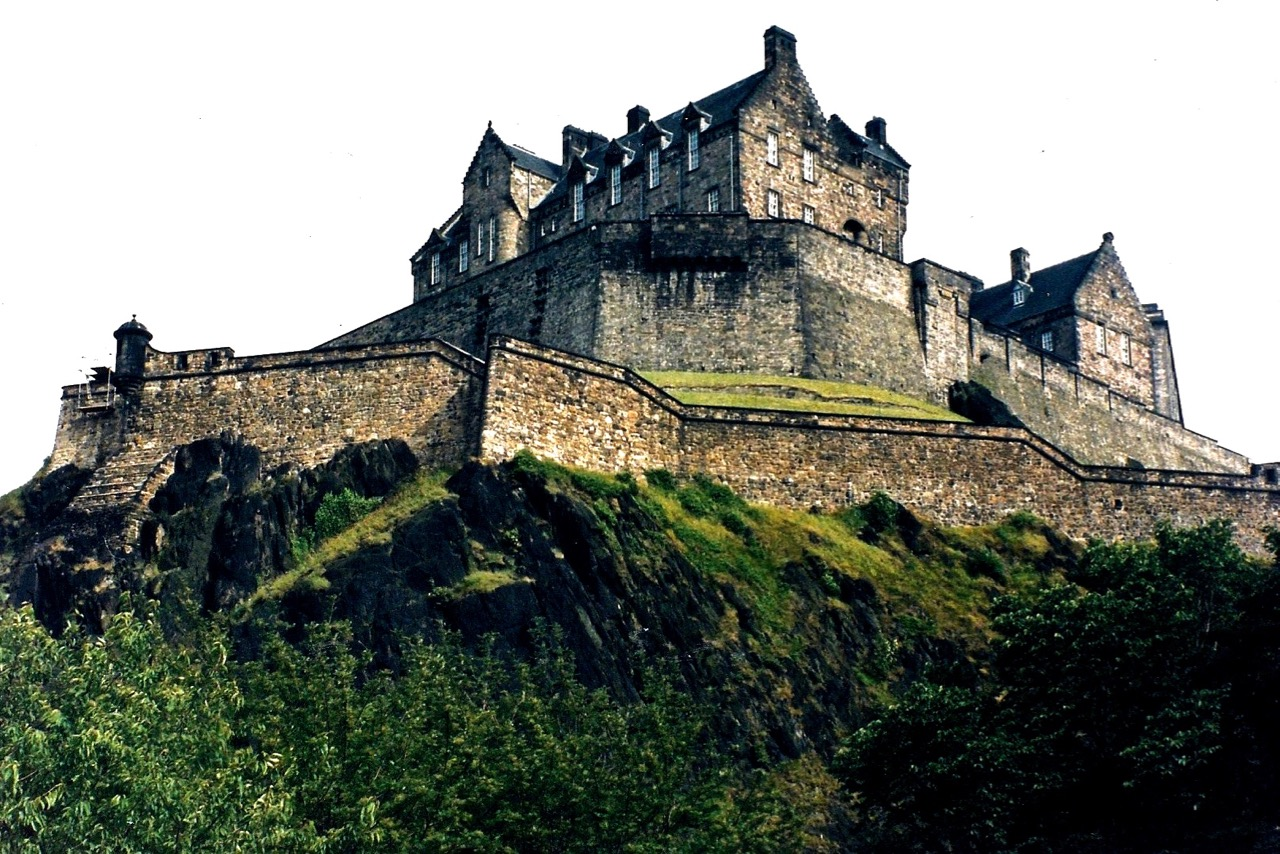 13C. Edinburgh Castle, Scotland, United Kingdom, 1985.