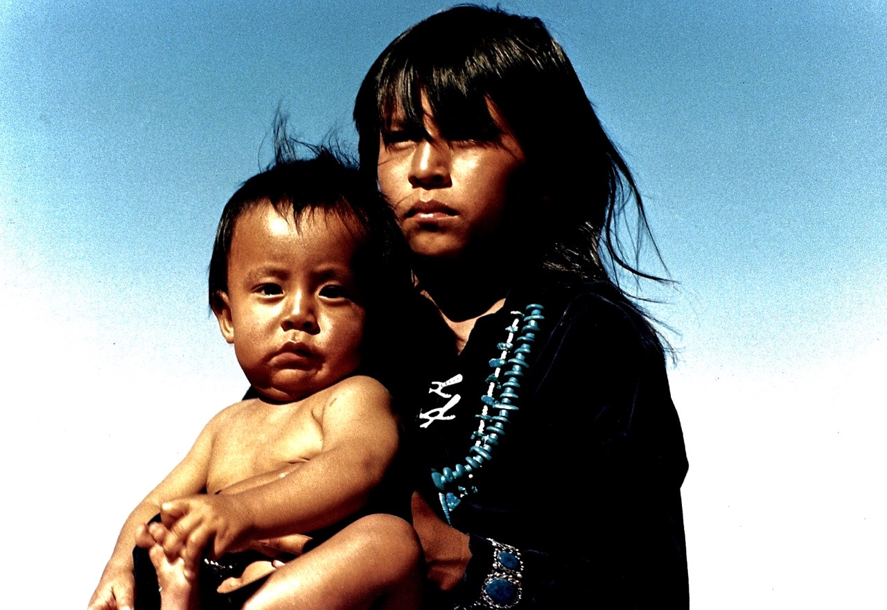 19. Kylie and Bert Attine, Monument Valley, Utah, 1987.