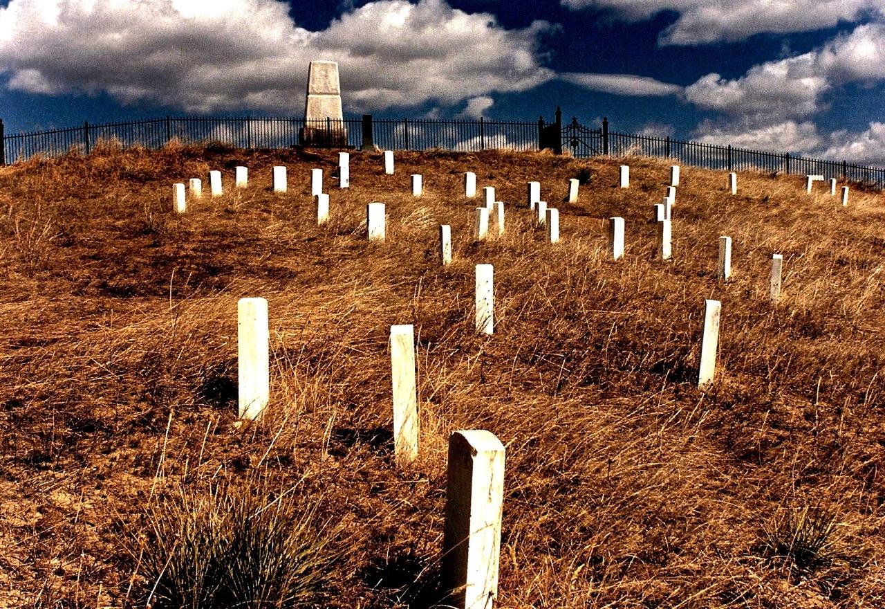 161C. Cheyenne Outbreak Marker, Fort Robinson, Nebraska, 2006. Neg Deleted.