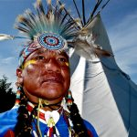 25.  Gilbert Emery Brown, Meskwaki, Rosebud Casino Powwow, South Dakota, 2011.