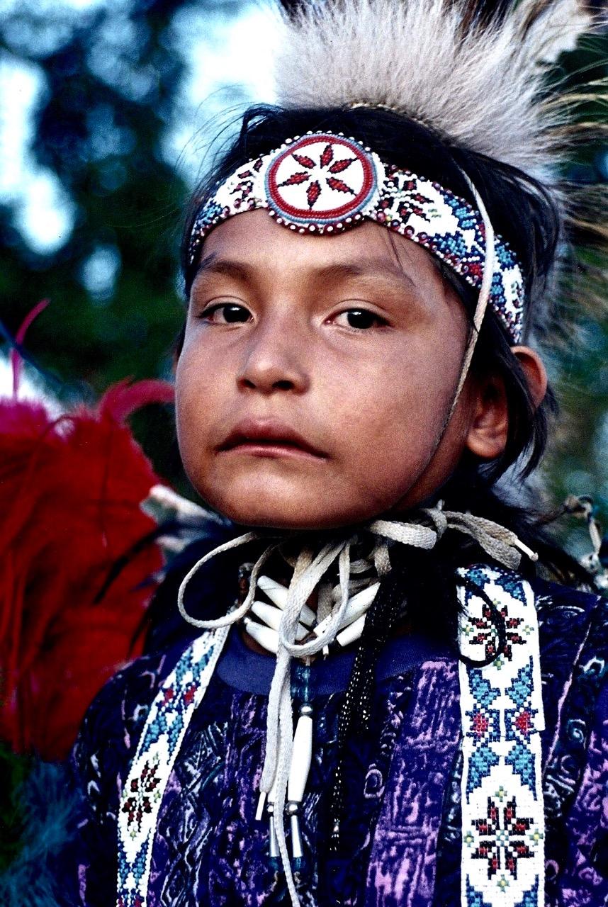 3. Quannah Kaline, Cheyenne, Colony, Oklahoma, 1992.