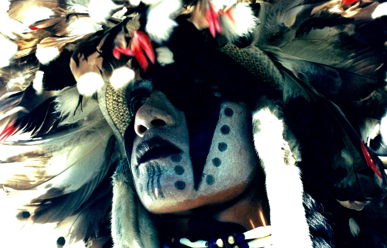 31. Adam Nordwall, Chippewa-Navajo-Shoshone, Black Hills-Shoshone, Black Hills, South Dakota, 1996.