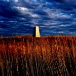 40. Enlistedmen's Monument, Little Bighorn Battlefield, Crow Agency, Montana, 2009.