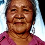 41. Sallie Black Eyes, Oglala-Lakota, Bear Creek, South Dakota, 1996.