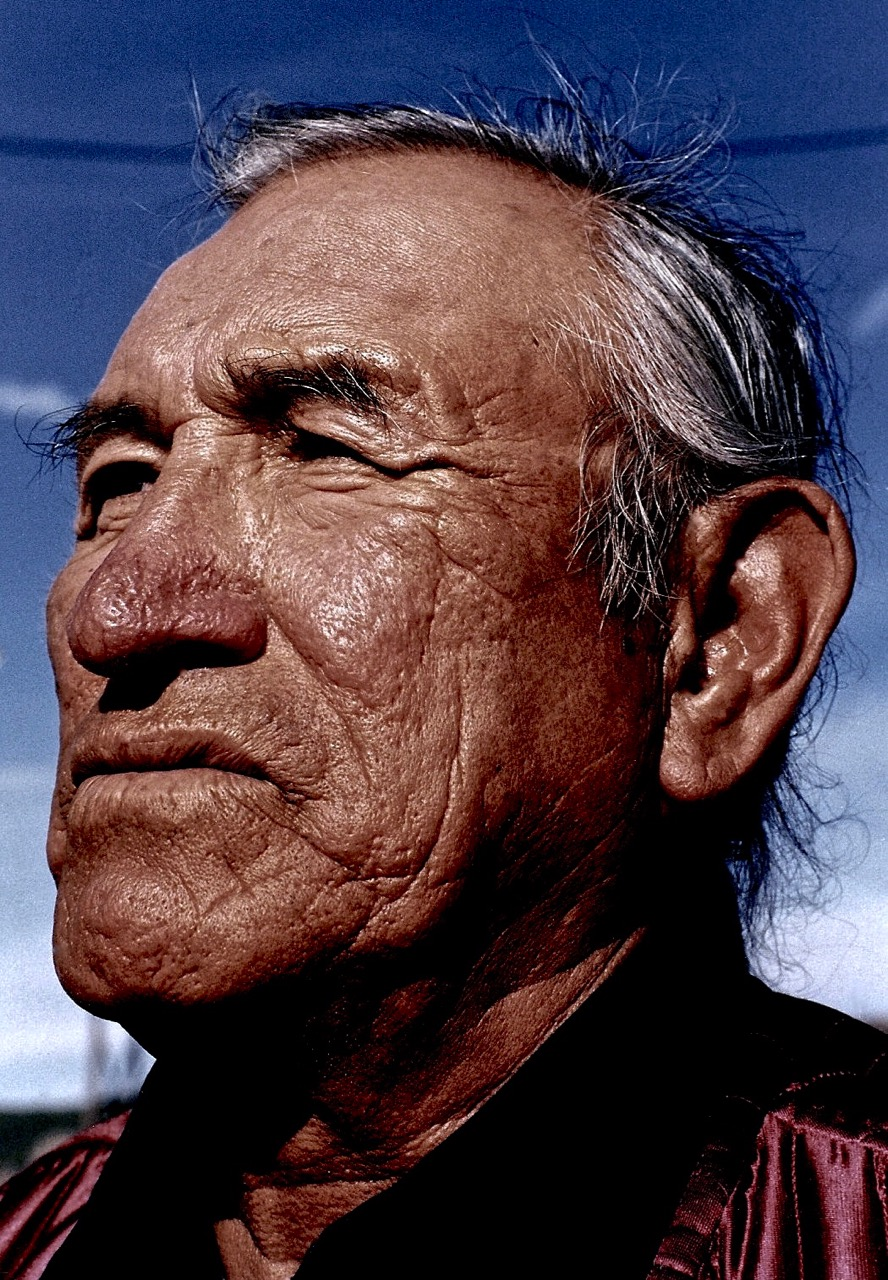 45. Jack Little, Oglala-Brule-Lakota, Custer, South Dakota, 1984.