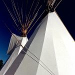 7. Crow Fair Tepee, Crow Agency, Montana, 1995.