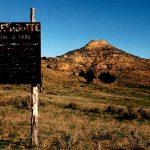 73. Battle Butte, Tongue River, Montana, 1984.