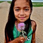 8. Grace Ponyah, Oglala-Lakota-Navajo-Hopi, Badlands National Park, South Dakota, 2011.