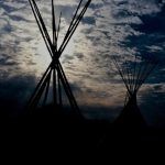 9. Tepee Sunset, Gallup, New Mexico, 1984.