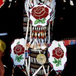 130. Pearl Sammarifa's Regalia, Plains Indian Museum Powwow, Powwow, Cody, Wyoming, 2008.