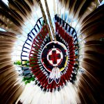 260. Bustle. Plains Indian Museum Powwow, Cody, Wyoming, 2008.