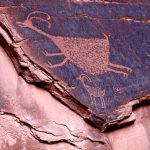 113. Pictographs, Monument Valley, Utah, 2013.