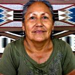 105. Priscilla Sagg, Navajo, Twin Rocks, Bluff, Utah, 2013.