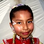 171. Justine Cortes, Mexican-Navajo, Plains Indian Museum Powwow, Cody, Wyoming, 2008.