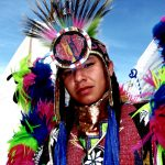 134. Logan Reeder, Kiowa, Plains Indian Museum Powwow, Cody, Wyoming, 2008.