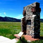 30. Wagon Box Fight Monument, Johnson County, Wyoming, 2011.