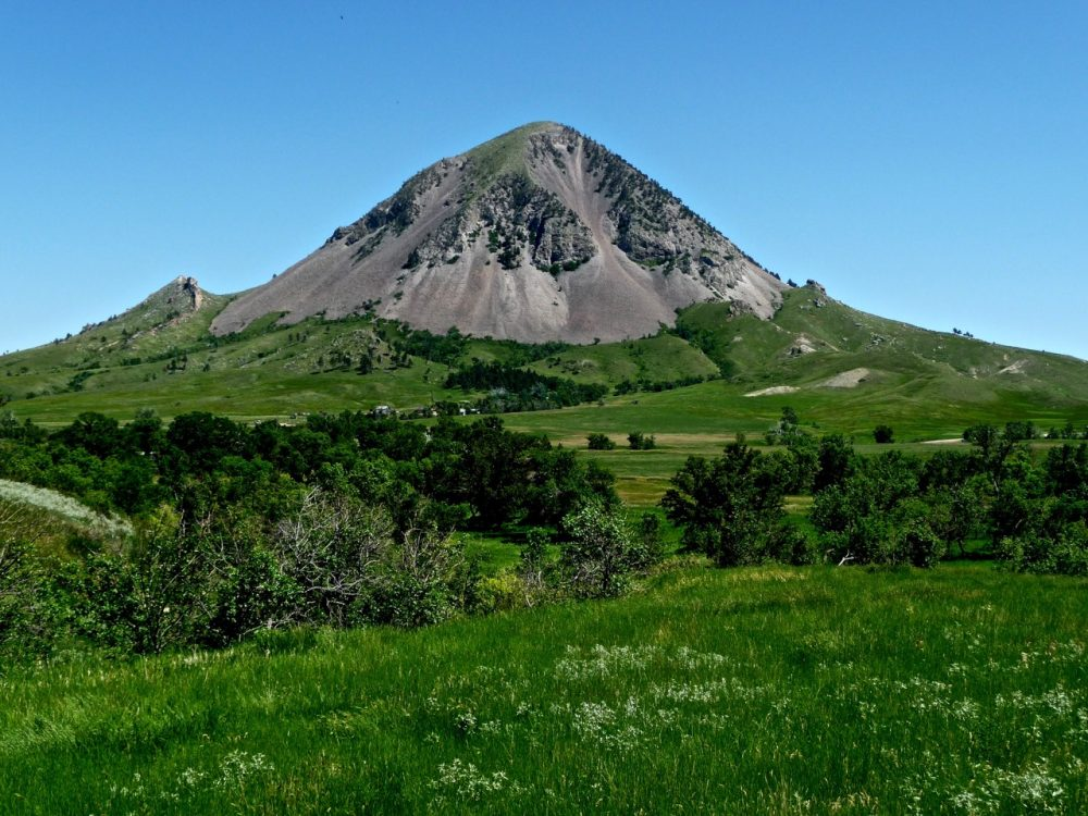 Bear Butte Mountain, South Dakota, USA, 2011.