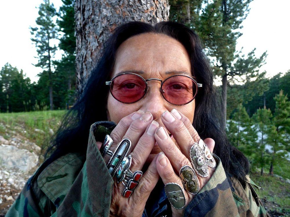 Patti Douville, Oglala-Lakota, Crazy Horse Memorial, Black Hills, South Dakota, United States of America, 2011.