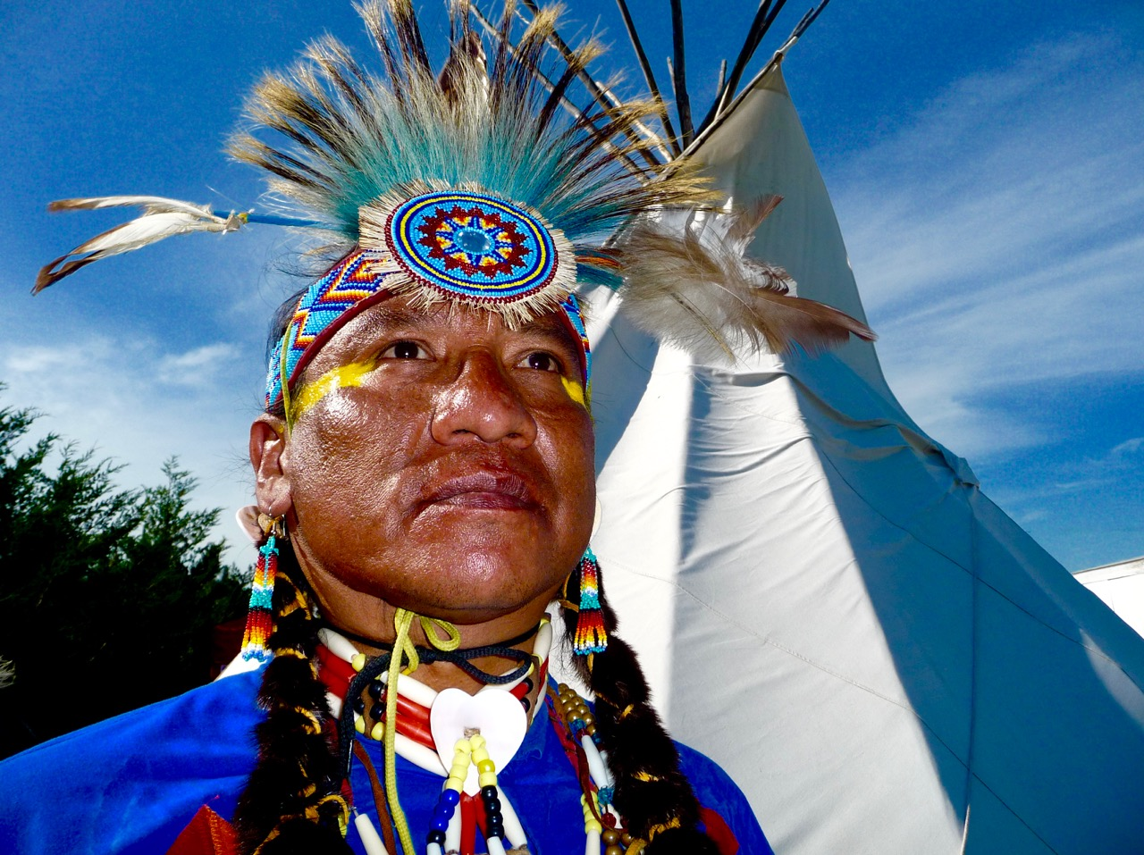 Gilbert Emery Brown, Meskwaki, Rosebud Powwow, South Dakota, United States of America, 2011.