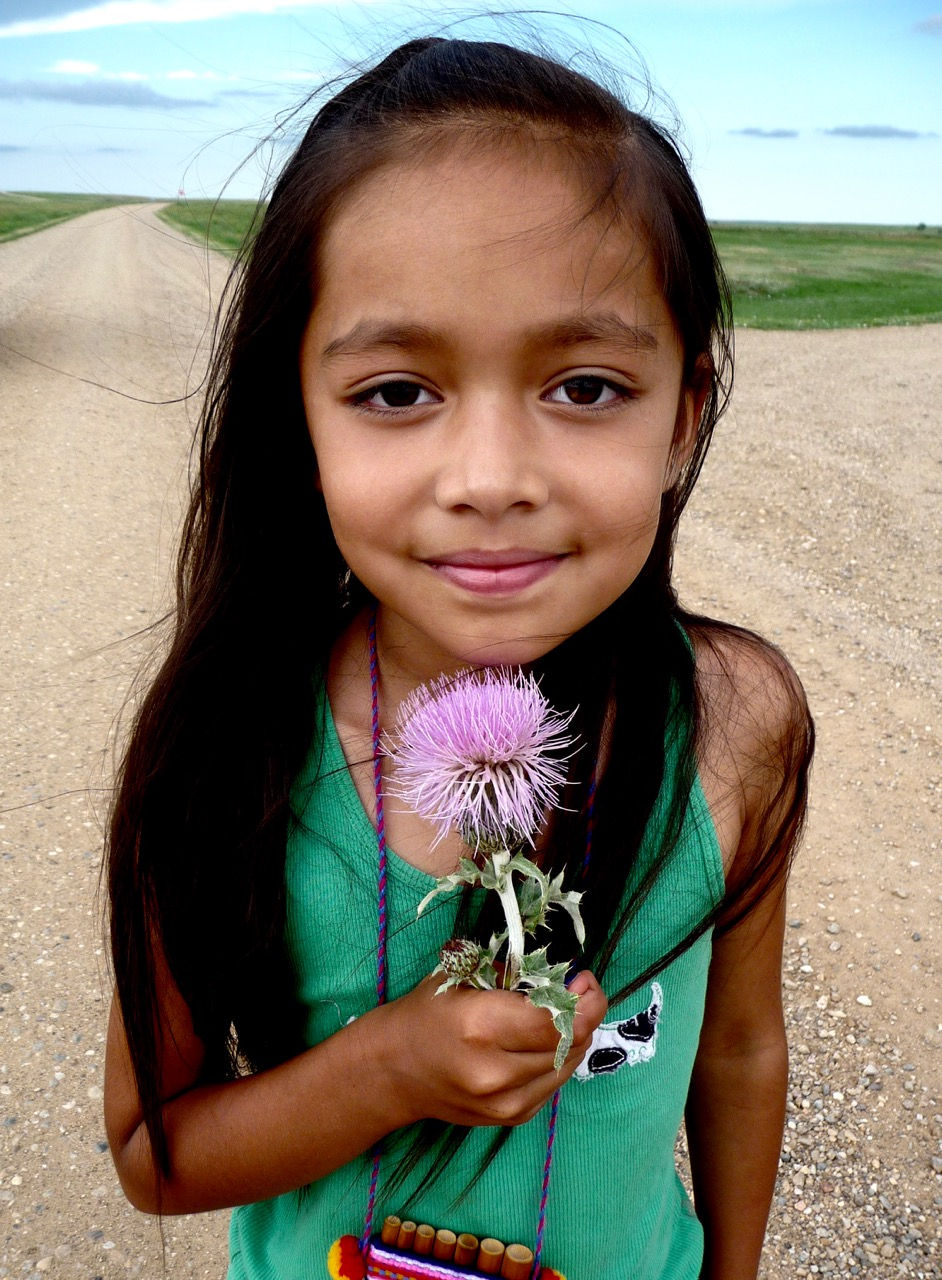 Grace Ponyah, Oglala-Lakota-Navajo-Hopi, The Badlands National Park, South Dakota, USA, 2011.