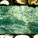 100. Crazy Horse Monument, Fort Robinson, Nebraska, 1999.