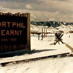 10. Fort Kearny, Wyoming, 1985.