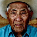 34. Joe Medicine Crow, Crow, Custer Battlefield Trading Post, Montana, 2006.