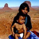6. Kylie and Bert Attine, Navajo, Monument Valley, Utah, 1987.