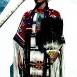 19. Khena Bullshields, Blood-Blackfeet, Crow Fair, Montana, 1996.