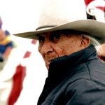 7. Frank Fools Crow, Oglala-Lakota, Cedar Lodge, South Dakota, 1989.