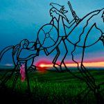 238. Little Bighorn Battlefield, Montana, 2008.