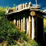 44. Mandan Indian Village, Fort Lincoln, North Dakota, 1995.
