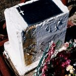 90. Little Wolf's Grave, Lame Deer Cemetery, Montana, 1999.