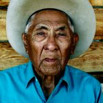 131. Joe Medicine Crow, Crow, Little Bighorn, Montana, 2006.