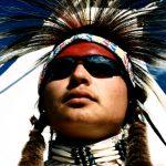 253. Tylis Bad Bear, Crow, Crow Fair, Montana, 2009.