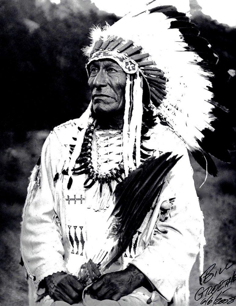 4. Dewey Beard, Lakota-Sioux, Black Hills, South Dakota, 1948. Photograph by Bill Groethe.
