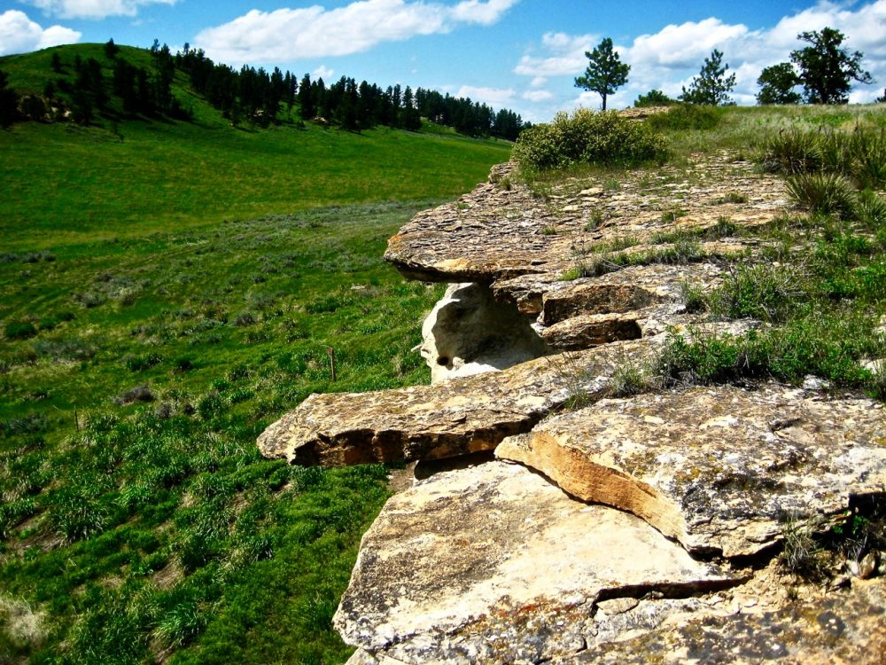 119. Buffalo Jump (7), Rosebud Battlefield, Montana, USA, 2008.