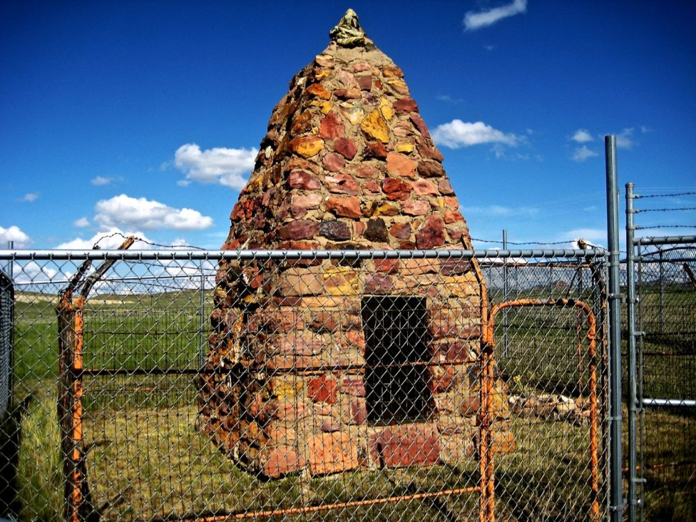 128. Two Moons Grave & Monument, Busby, Northern Cheyenne Reservation, Montana, USA, 2008.