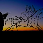 13.  Jonathan Maxwell Beartusk, Cheyenne, Indian Memorial, Little Bighorn, Montana, 2011.