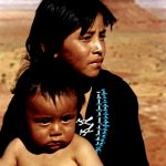 16. Kylie & Bert Attine 1, Navajo, Monument Valley, Utah, 1987.