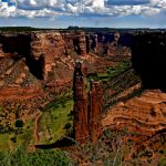 18.  Spider Rock, Canyon de Chelly, Chinle, Arizona, 2013.