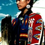 20. Khena Bullshields, Blood-Blackfeet, Crow Fair, Montana, 1996.