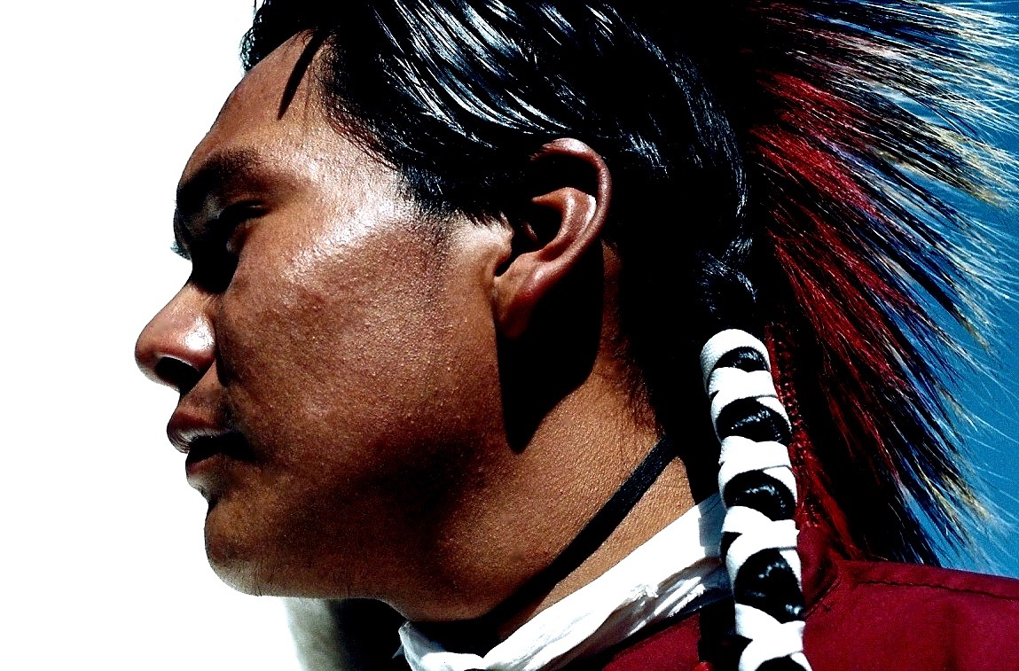 22. Brice Little Thunder, Minniconjou-Lakota, Black Hills, South Dakota, 1996.