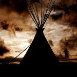 22. Ghost of Paha Sapa, Black Hills, South Dakota, 1995.