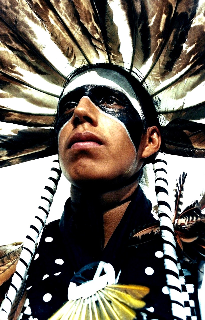 25. Jay Eagle, Hunkpapa-Lakota, Crow Fair, Montana, 1996.