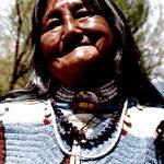25. Shoshone Elder, Jackson, Wyoming, 1985.